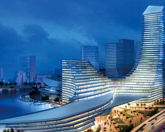 厦门东南航运中心